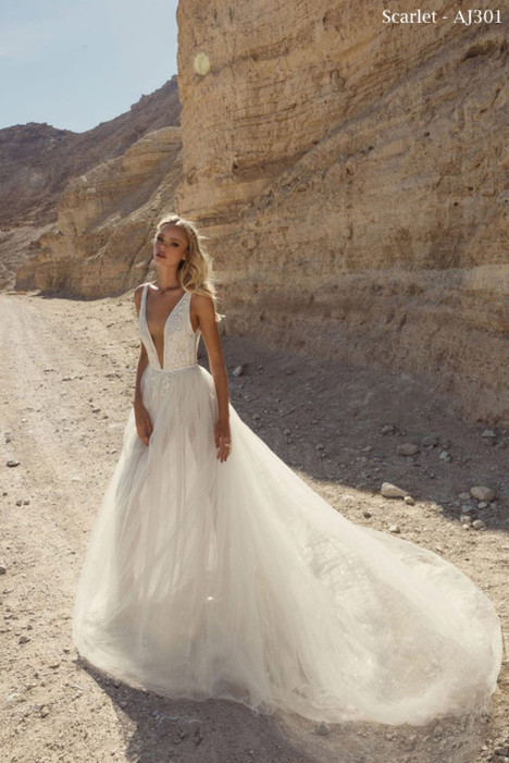 301 (2) Wedding                                          dress by A&J Collection