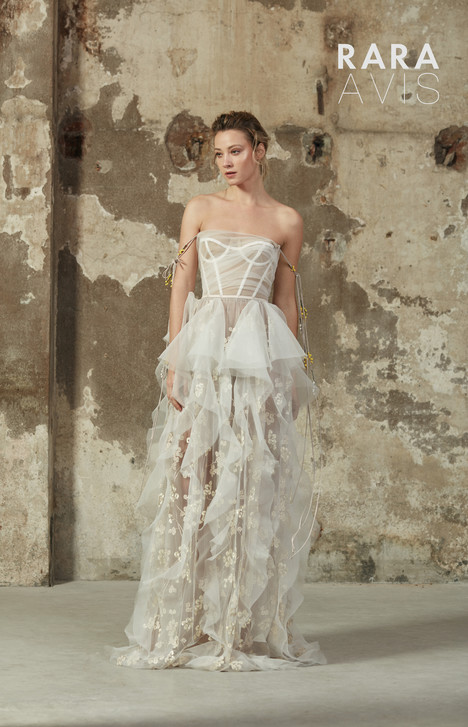 Bertel Wedding                                          dress by Rara Avis