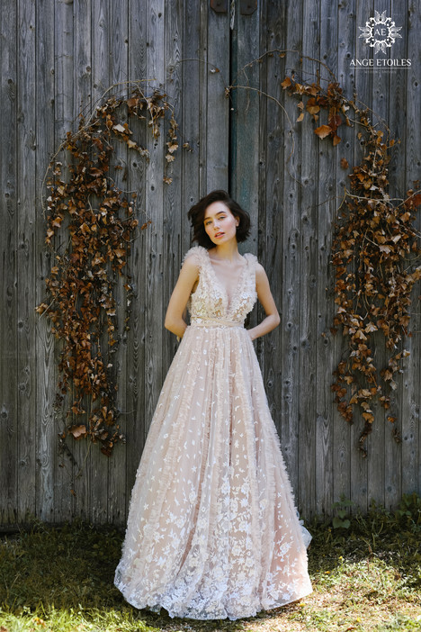 Fern Wedding                                          dress by Ange Etoiles