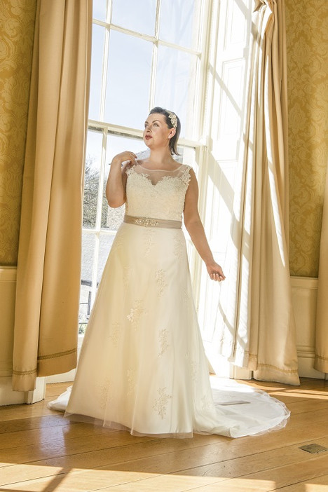 108 Wedding                                          dress by Beautiful Bride Plus