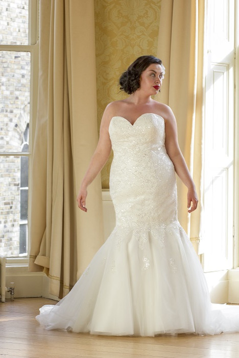 121 Wedding                                          dress by Beautiful Bride Plus