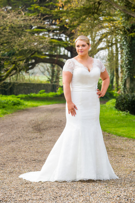 501 Wedding                                          dress by Beautiful Bride Plus