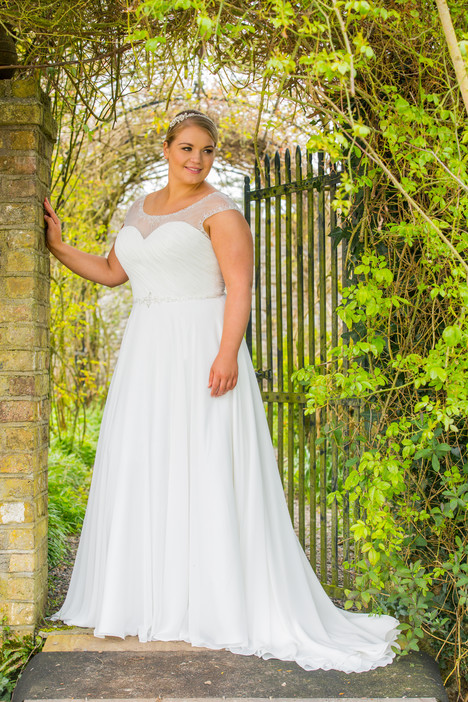 510 Wedding                                          dress by Beautiful Bride Plus