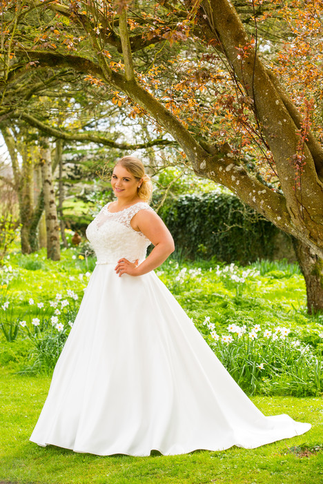 519 Wedding                                          dress by Beautiful Bride Plus