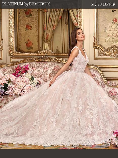DP349 Wedding dress by Platinum by Demetrios
