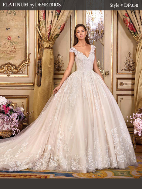 DP350 Wedding dress by Platinum by Demetrios