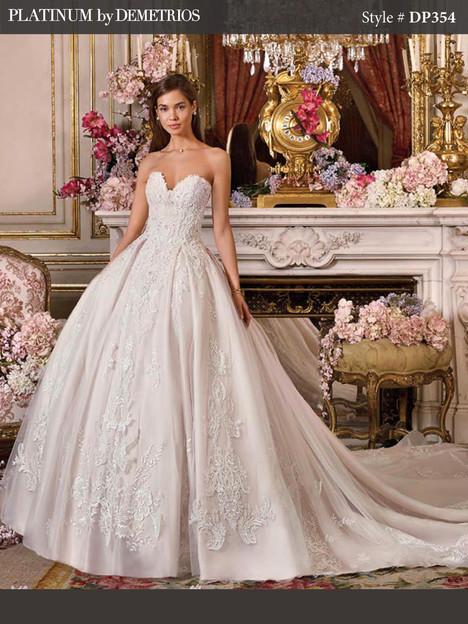 DP354 Wedding dress by Platinum by Demetrios