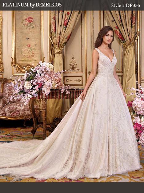 DP355 Wedding dress by Platinum by Demetrios