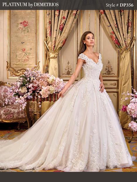 DP356 Wedding                                          dress by Platinum by Demetrios
