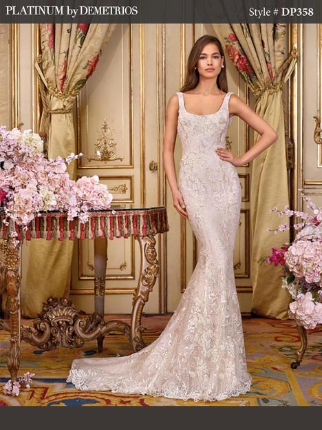 DP358 (2) Wedding                                          dress by Platinum by Demetrios