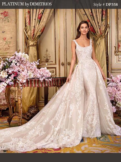 DP358 Wedding                                          dress by Platinum by Demetrios