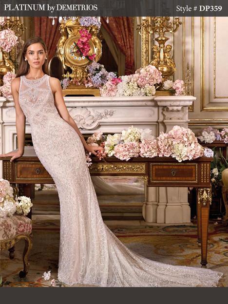 DP359 Wedding                                          dress by Platinum by Demetrios