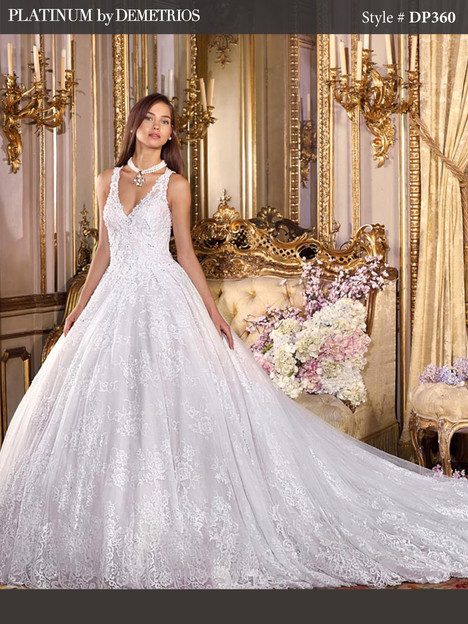DP360 Wedding                                          dress by Platinum by Demetrios