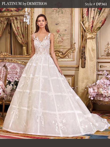 DP361 Wedding                                          dress by Platinum by Demetrios