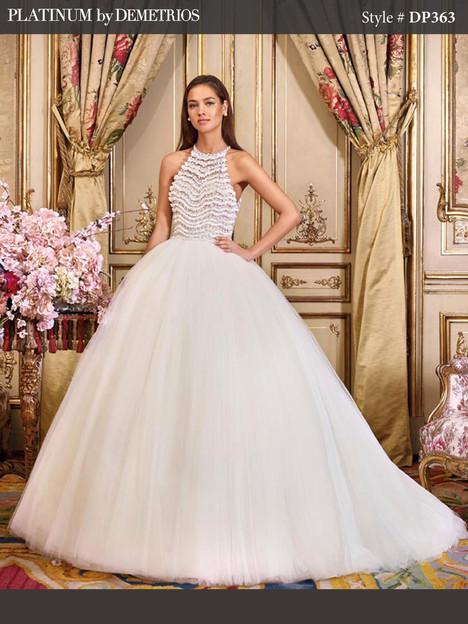 DP363 Wedding                                          dress by Platinum by Demetrios
