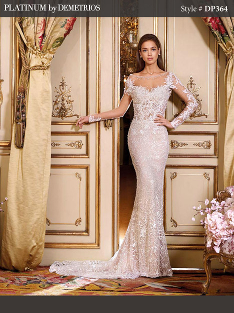 DP364 (2) Wedding dress by Platinum by Demetrios
