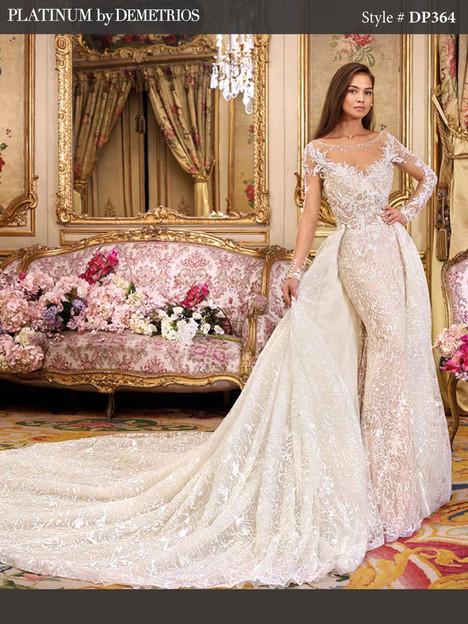 DP364 Wedding                                          dress by Platinum by Demetrios