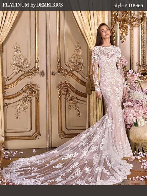 DP365 Wedding                                          dress by Platinum by Demetrios