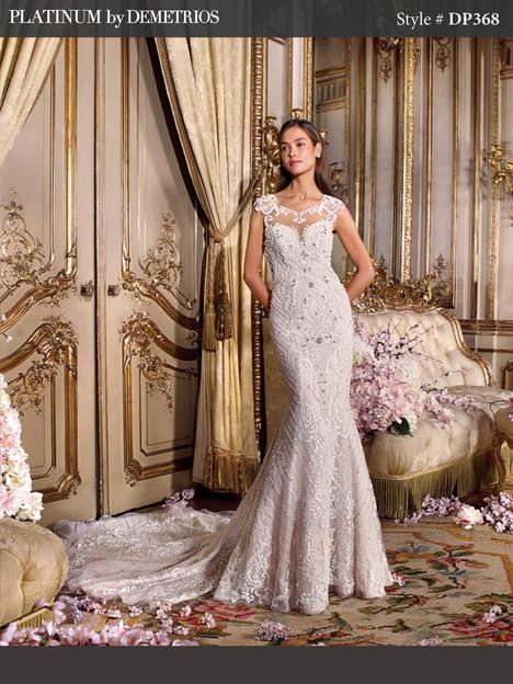 DP368 Wedding                                          dress by Platinum by Demetrios