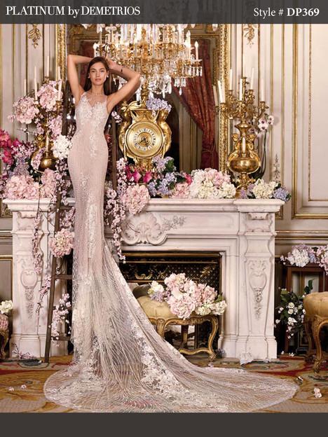 DP369 Wedding dress by Platinum by Demetrios
