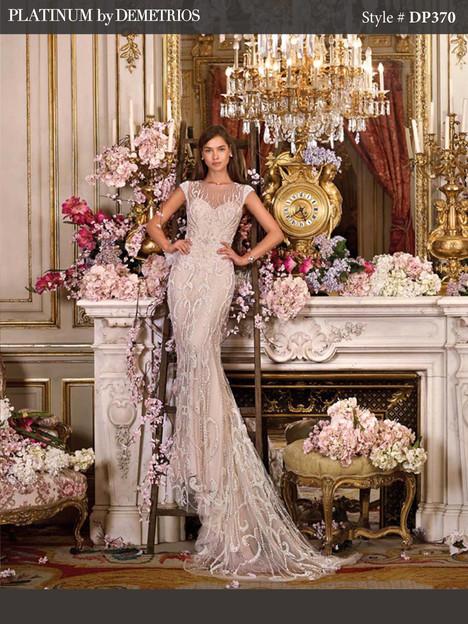 DP370 Wedding                                          dress by Platinum by Demetrios