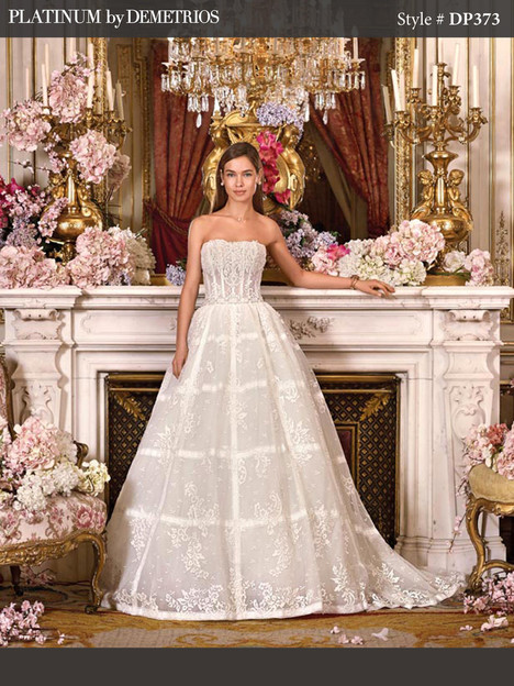 DP373 Wedding                                          dress by Platinum by Demetrios