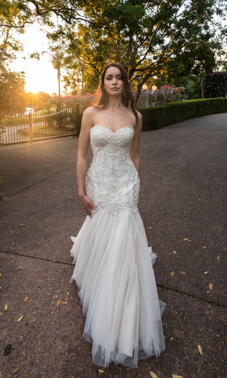 4324 Wedding                                          dress by Christina Rossi