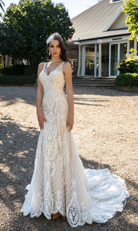 4332 Wedding                                          dress by Christina Rossi