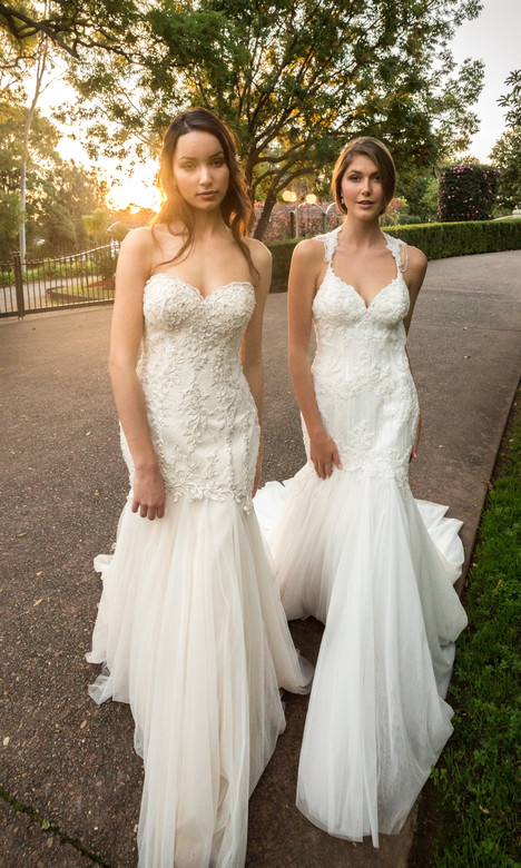 4345 Wedding                                          dress by Christina Rossi