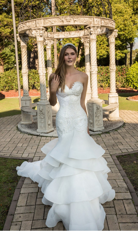Merilyn Wedding                                          dress by Christina Rossi