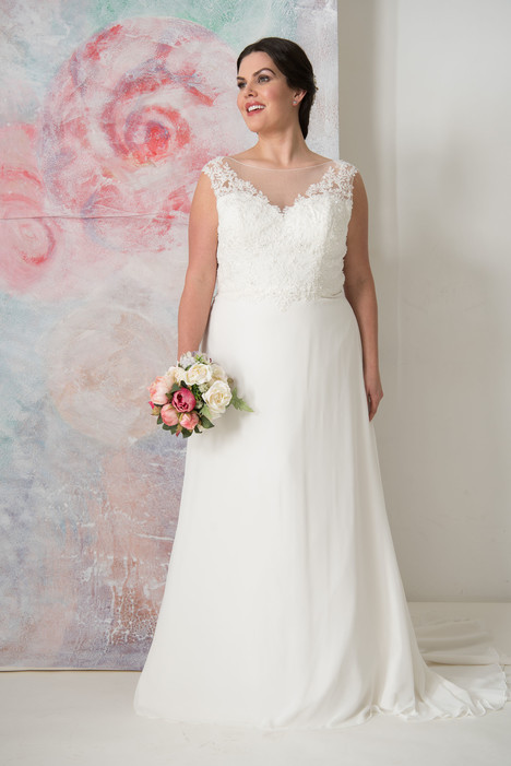 Morgan Wedding                                          dress by Callista