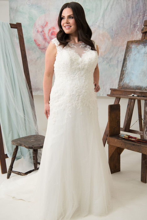 Sterling Wedding                                          dress by Callista