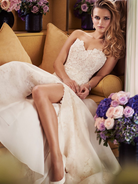 Bisou Wedding                                          dress by Caroline Castigliano