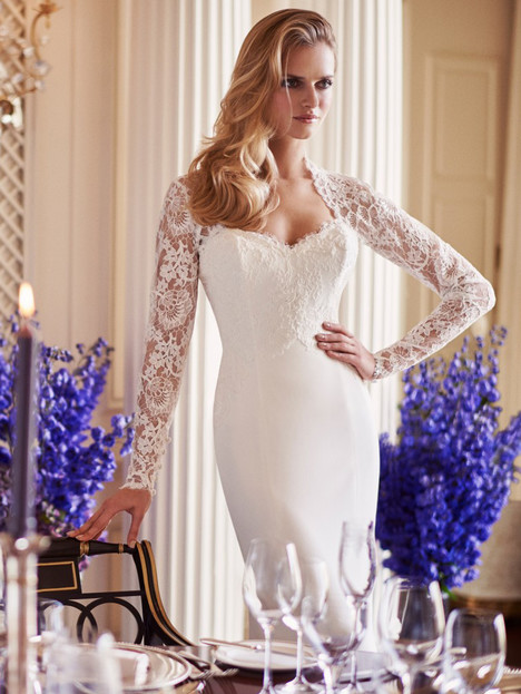 Panache Wedding                                          dress by Caroline Castigliano