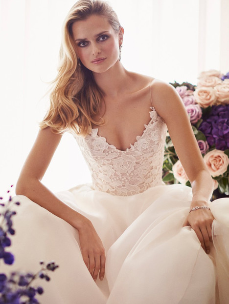 Tertia Wedding                                          dress by Caroline Castigliano