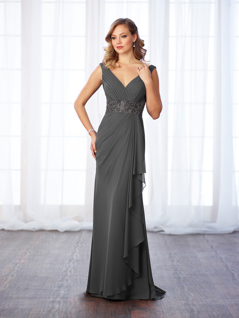 217641 (slate) Mother of the Bride                              dress by Cameron Blake