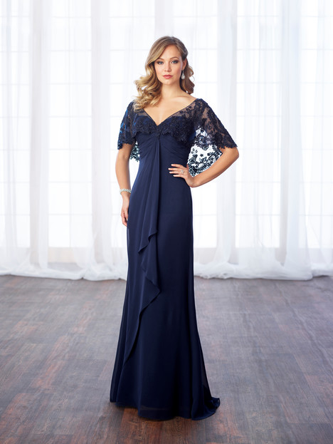 217643 (navy) Mother of the Bride                              dress by Cameron Blake