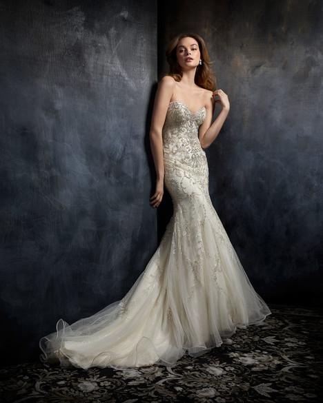1750 Wedding                                          dress by Kenneth Winston