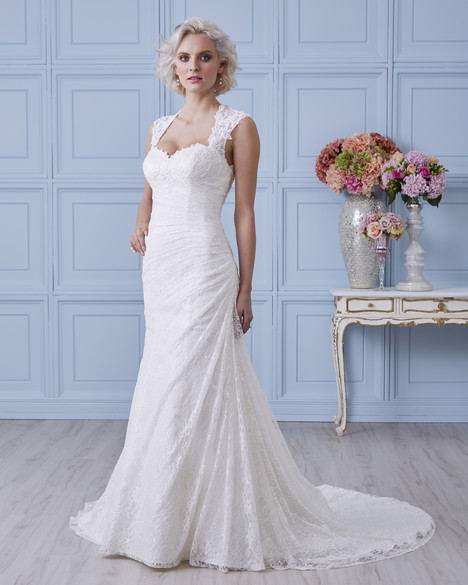 7404 Wedding                                          dress by Romantic Bridals