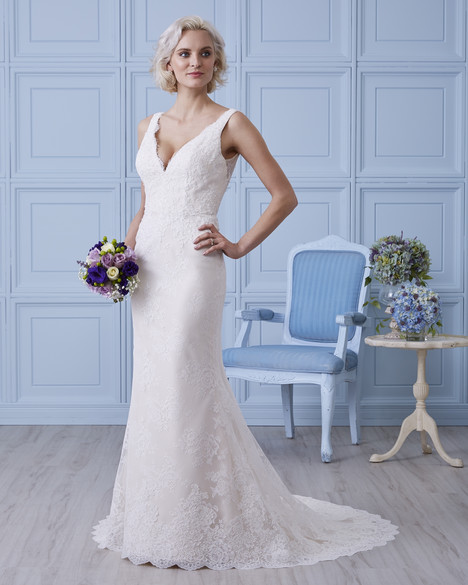 7407 Wedding                                          dress by Romantic Bridals