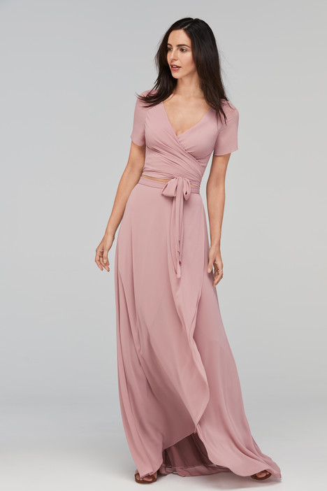 Sandy (80500 (top) + 80501 (skirt)) gown from the 2017 Watters Bridesmaids collection, as seen on dressfinder.ca