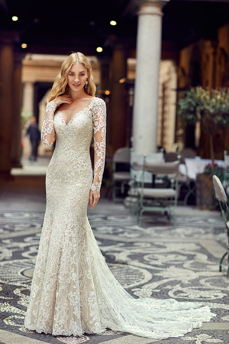 MD237 Wedding                                          dress by Eddy K : Milano
