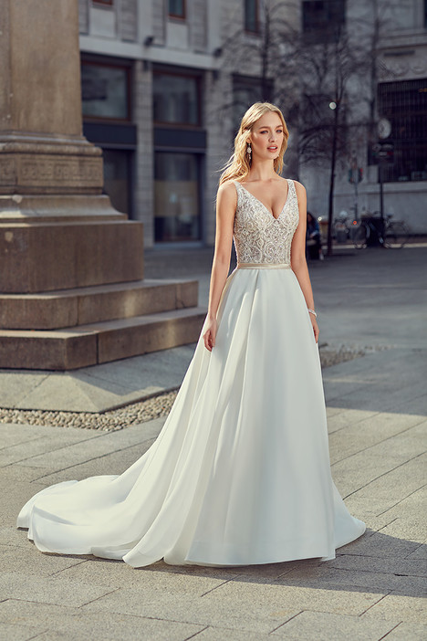 MD255 gown from the 2018 Eddy K Milano collection, as seen on dressfinder.ca