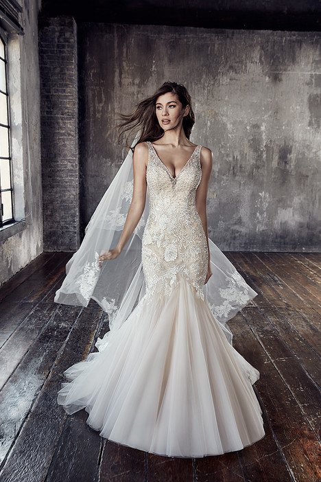 CT187 Wedding                                          dress by Eddy K Couture