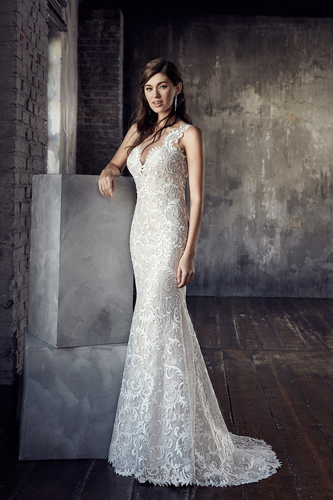 CT193 Wedding                                          dress by Eddy K Couture