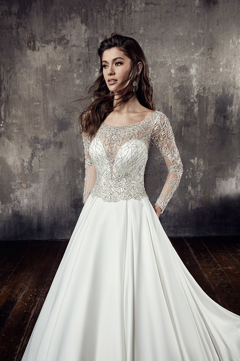 CT196 Wedding                                          dress by Eddy K : Couture