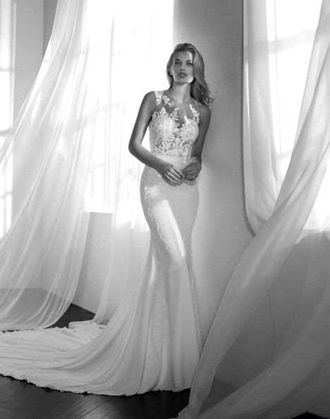 Zalen Wedding                                          dress by Studio St. Patrick