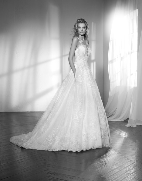 Zebina Wedding                                          dress by Studio St. Patrick