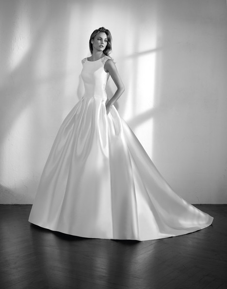 Zenon Wedding                                          dress by Studio St. Patrick