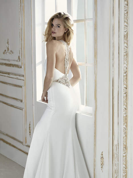 Palencia (back) Wedding                                          dress by La Sposa